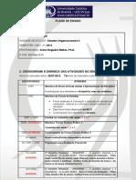 10 - Plano de Ensino - Estudos Organizacionais II