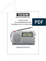 Download Tecsun PL 660 Radio Portugues Manual PDF1