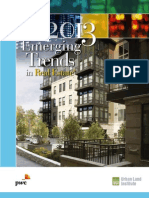 Emerging Trends in Real Estate 2013