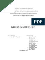Los Grupos Sociales