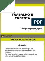 Aula 8 - Energia e Trabalho