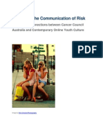 Youth and the Communication of Risk