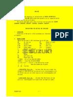 Suzuki GSX250F Across microfiche complete