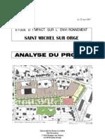 Etude d'Impact Sur l'Environnement - Analyse Du Projet -