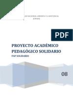 Pap Solidario Unad