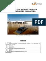 La Stratégie Nationale Pour La Prévention Des Inondations