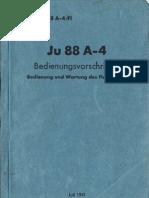 Ju 88A-4 Bedienungsanleitung FL[1]