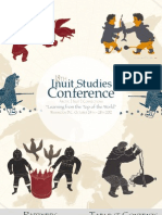 18th Inuit Studies Conference Program_Oct24!28!10!11!12