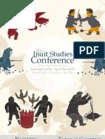 18th Inuit Studies Conference Program_Oct24!28!10!11!12