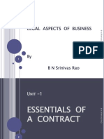 Legal Aspects-contract Act