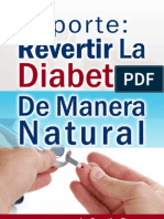 Reporte Revertir La Diabetes de Manera Natural