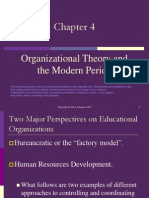 Ch4 OrgTheory Modern