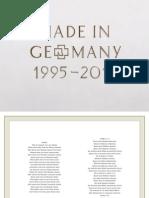 Digital Booklet - Made in Germany 1995 - 2011