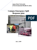 Emergency Spill Response Plan