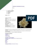 Minerales Formadores de Rocas