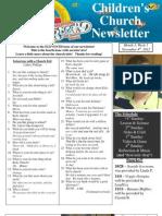 Newsletter 11-04-12