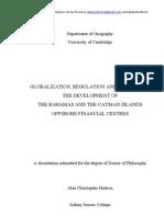 A Hudson PhD Globalization Regulation Geography