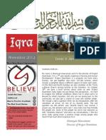 Iqra Issue 4 Volume 3