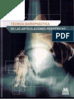 Tecnicas Quiropracticas de Las Articulaciones Perifericas