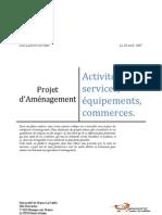 Projet de Requalification de Villa d'Este - Place de vénétie - Diagnostic Commercial - Paris 13