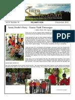 RCBKS Bulletin Vol 21 No 16