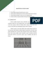 1. Resistor Dan Hukum Ohm