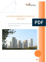Projet de Requalification de Villa d'Este - Place de vénétie - Paris 13