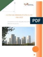 Projet de Requalification de Villa d'Este - Place de vénétie - Paris 13