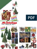 Catalog Mr.bricolage Craciun 2012