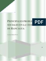 Principales problemas sociales en la ciudad de Rancagua