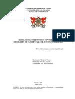Os Solos de Acordo com o Novo Sistema Brasileiro de Classificação e a Sustentabilidade (1)
