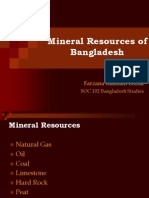 Naural Resources of BD