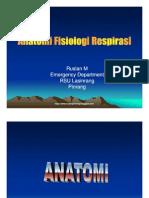 Anatomi Fisiologi Saluran Pernafasan
