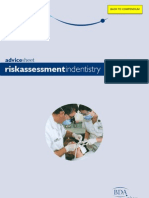 A5 Risk Assessment in Dentistry
