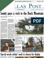 The Dallas Post 11-04-2012