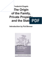 Engels the Origin of the Family, Private Property, And the State