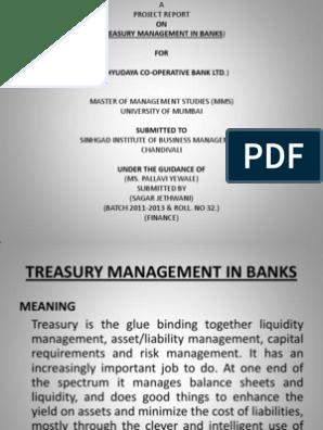 PPT | Market Liquidity | Banks