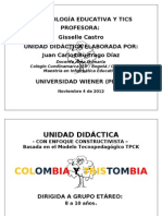 TRABAJO FINAL METICS JUAN C BUITRAGO D 2012900650 UWIENER PERÚ PROF. GISSELLE CASTRO