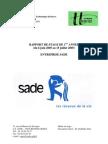 Rapport de Stage Première Année IUT Génie Civil Entreprise SADE