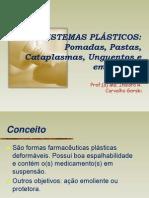 09 Aula Sistemas Pl%c1sticos Pomadas & Pastas