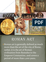 Painting an Art of Rome