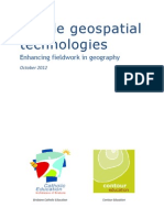 Mobile Geospatial Booklet