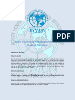 RYMUN 2012 Official Rules of Procedures