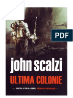 Ultima Colonie-john Scalzi