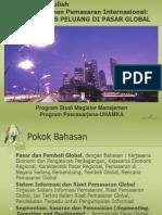 Analisis Peluang Di Pasar Global