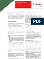 Boletin Rimac Normativa Ley 29783 SST