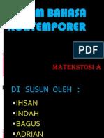 Ragam Bahasa Kontemporer