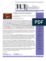CCFLT October 2012 Newsletter Updated