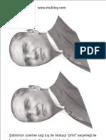 Ataturk Panosu Sablonu