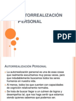 Autorrealización Personal